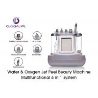 China White Water Oxygen Jet Peel Machine For Eyes Pouch / Dark Circles Improvement wholesale