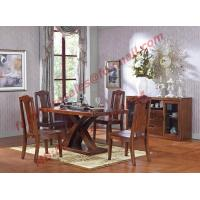 China Luxury Design for Solid Wooden Furniture Dining Room Set wholesale