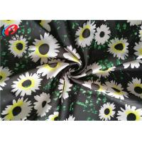 China Printed Swimming 85 Polyester 15 Spandex Fabric , Four Way Stretch Lycra Fabric on sale
