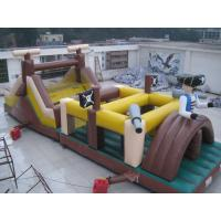 China inflatable obstacle course / inflatable pirate obstacle course for kids play wholesale