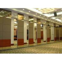 Buy cheap Aluminium Sliding Track Roller Multi Color Office Acoustic Conference Hall Wooden Partition Walls from wholesalers