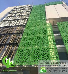China Exterior  Green  Aluminum Facade Panels Metal Curtain Wall Decoration wholesale