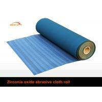China 80 Grit Sandpaper Roll, Aluminium Oxide Abrasive Paper Rolls With Cotton Cloth Backing wholesale