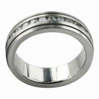 Buy cheap Ring, Made of Titanium/Tungsten/Stainless Steel, Available in Various Colors from wholesalers