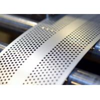 China 5052 Perforated Aluminum Sheet Plate 2.5 Mm Hole Diameter For Building Facades wholesale
