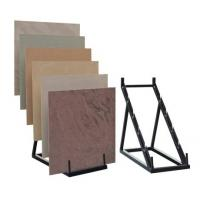 China Retail stores Simple Ceramics Flooring Tile Display Rack triangle structure, step holders wholesale