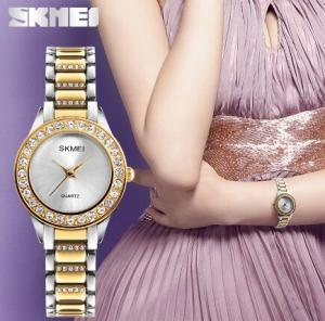 China Skmei Fashion Aesthetics Ladies Quartz 3 ATM Wrist Watches 1262 wholesale