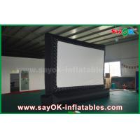 China Outdoor Giant  Inflatable Movie Screen Customized for Advertising / Amusement wholesale