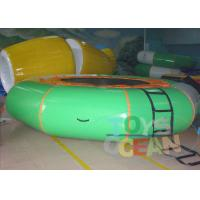 China Round Inflatable Sports Games / Kids Jumping Inflatable Bungee Trampoline wholesale