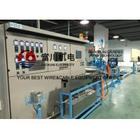 China Fuchuan Wire Extruder Machine For LAN Cable With Inlet Copper Wire 2.5-3mm Max Die No. 17 wholesale