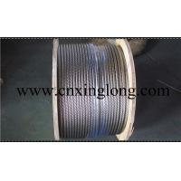 Quality sell xinglong galvanized aircraft cable and aisi 304 stainless steel aircarft for sale