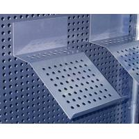 China Shop Display accessories sheet metal Material Shelf / Shelving for pegboard Chrome finish wholesale