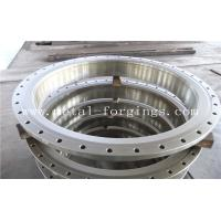 China Quenching And Tempering Carbon Steel Flange / Pressure Vessel Flange wholesale