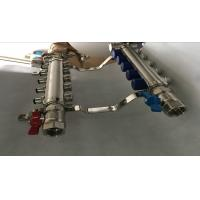 China Italy Style Intelligent Temperture Control 2 Port Underfloor Heating Manifold For Pex wholesale