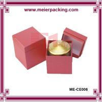 China Wholesale Two Pieces Paperboard Candle Gift Box with Insert ME-CE006 on sale