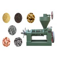 China Screw Cold Pressed Nut And Seed Oil Expeller Oil Press For Oil Extraction wholesale