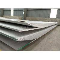 China Sand Blasting ASTM A240 316 SS Plate , 2000mm Width Stainless Steel Hot Rolled Plate wholesale