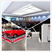 China Meeting Room/Show Room/Garage/Warehouse/Bathroom/Home PVC Interlocking Decking Flooring wholesale
