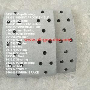 China 20018433 BRAKE PAD  TEREX NHL DUMP TRUCK TR35 TR50 TR60 TR100 CUMMINS ALLISON UNIT RIG MT4400 MT3600 MT3300 MT3700 SANY on sale