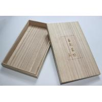 Buy cheap Lightweight Personalised Box , Paulownia Wooden Tea Bag Storage Box With Custom from wholesalers