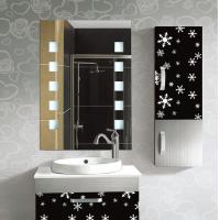 China Rectangular Frameless Bathroom Mirror / Decorative Wall Mirrors For Bathrooms wholesale