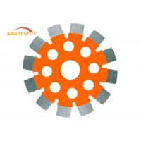"""China MPA 5"""" X 250'' Tuck Point Saw Blade With Alloy Steel Core / 2.5 Inch Segment Width wholesale"""