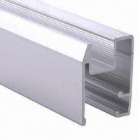 China PVDF Painted Black Aluminum Window Extrusion Profiles , Bathroom Aluminum Sliding Windows wholesale