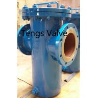 China Fabricated Basket Strainer, Carbon Steel, Welded Body Flanged Industrial Simplex Basket Strainers on sale