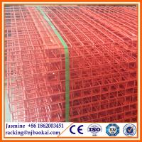 China Galvanized/Powder Coating Warehouse Steel Wire Mesh Decking wholesale