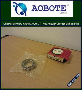 China Original Germany FAG B71905.C.T.P4S Angular Contact Ball Bearing  wholesale