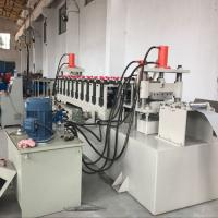 China Hot Dipped Galvanized Steel Cable Tray Roll Forming Machine CE / SGS / ISO wholesale