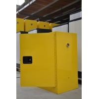 China 12GAL Flammable Safety Storage Cabinets with Double vents For Industrial Chemical wholesale