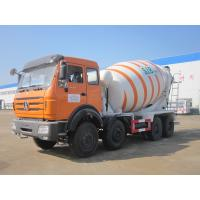 China Beiben 8X4 Self Loading Concrete Mixer Truck 12 Cubic Meter High Efficiency wholesale