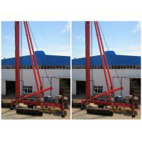 China Crawler Mounted Drill Rig For Pile Foundation Max Drilling Depth 34m wholesale