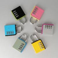 Quality Luggage Mini Zinc Alloy Combination Padlock 3 Digital Password Padlock for sale
