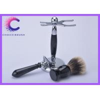 China Badger Shaving brush set , safety razor set for Gift for boy friend wholesale