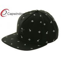 Quality All Over White Future Printing Patterns Leisure Snapback Baseball Caps for Unisex for sale