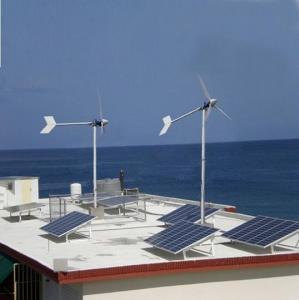 China Wnd Turbine And Solar Panel Hybrid System 1000W on sale