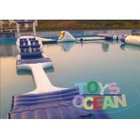 China 0.9mm Lake Inflatable Water Park Toys Inflatable Water Equipment For Inground wholesale