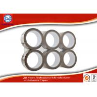 China Weather - resistance BOPP Brown Colored Packing Tape for Box / Carton 66m Length wholesale