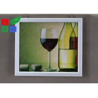 China Easily Changing Poster Lighted Picture Frame Box , Supermarket LED Snap Frame Box Energy Saving wholesale