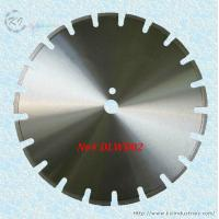 China Laser Welded Diamond Saw Blade for Cutting Asphalt and Green Concrete - DLWB02 (U slot) wholesale
