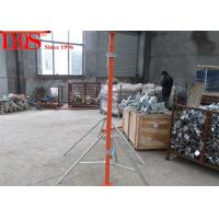 China Push Pull Acrow Props Building Construction Jack Post Q235 Steel Materials wholesale