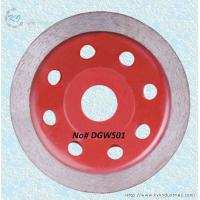 China Continuous Rim Diamond Cup Grinding Wheel for Granite and Marble - DGWS01 wholesale