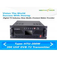 Wholesale DVB-T2 DVB-C Indoor 200W MUDS Broadband Terrestrial UHF Digital TV Transmitter from china suppliers