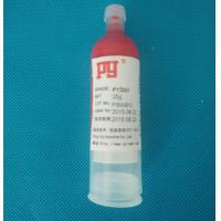 China Red Plastic SMT Solder Paste UV Curing Plastic Bonding Adhesives For Posts 30CC wholesale