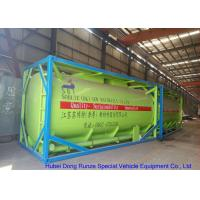 China Fluoboric Acid Transport Tank Container 20FT , ISO Bulk Container For Shipping wholesale