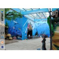 China Amusement Hydraulic / Electric System 4d Cinema With Digital Video Projector System wholesale
