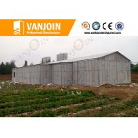 China Prefab House 100mm EPS Foam Sandwich Wall Panels With Sound Insulation wholesale