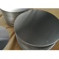 China 1.8mm 1100 Aluminum Circle Blanks , Fry Pan Lightweight Round Aluminum Discs wholesale